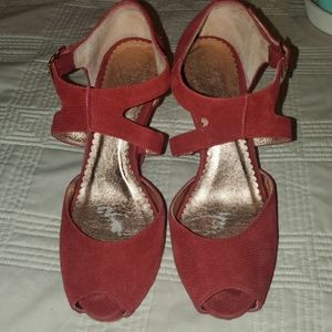 Anthropologie/Ms Albright wedge